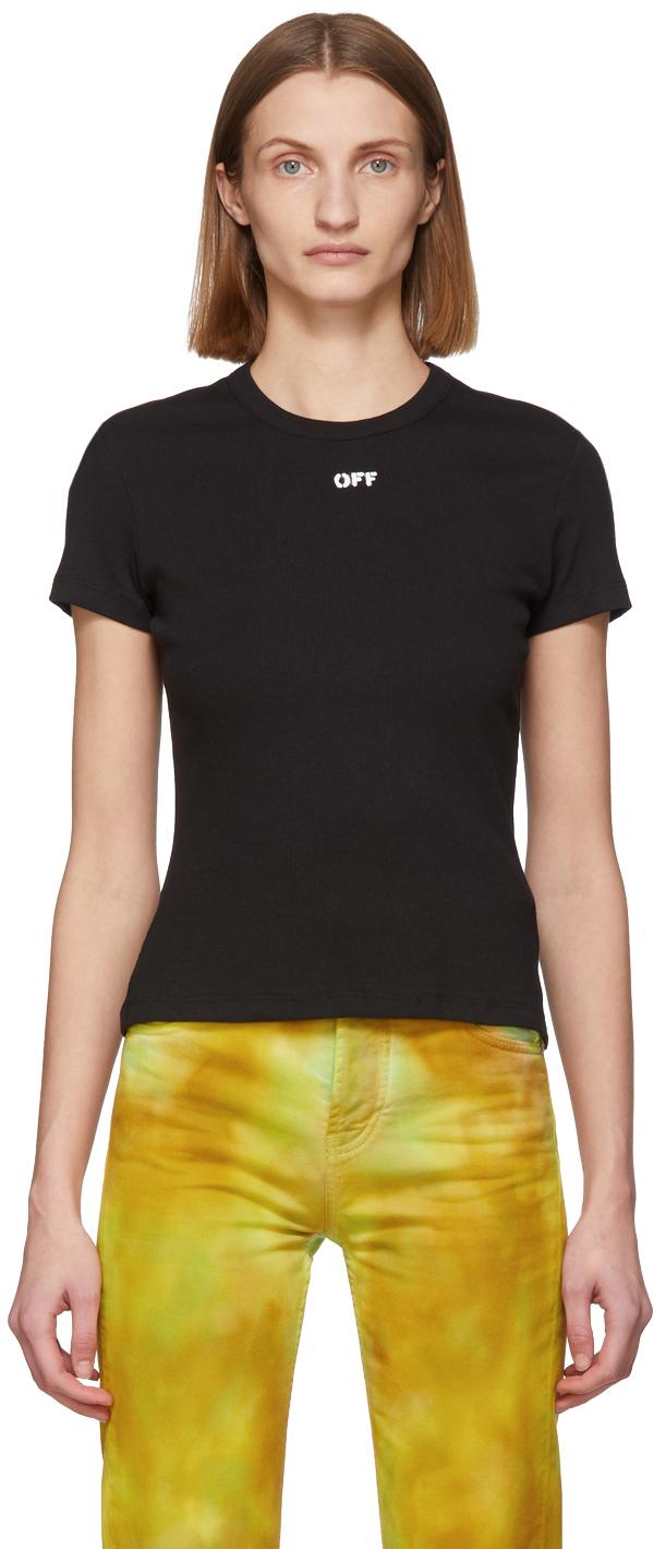 Off-White Black Rib T-Shirt