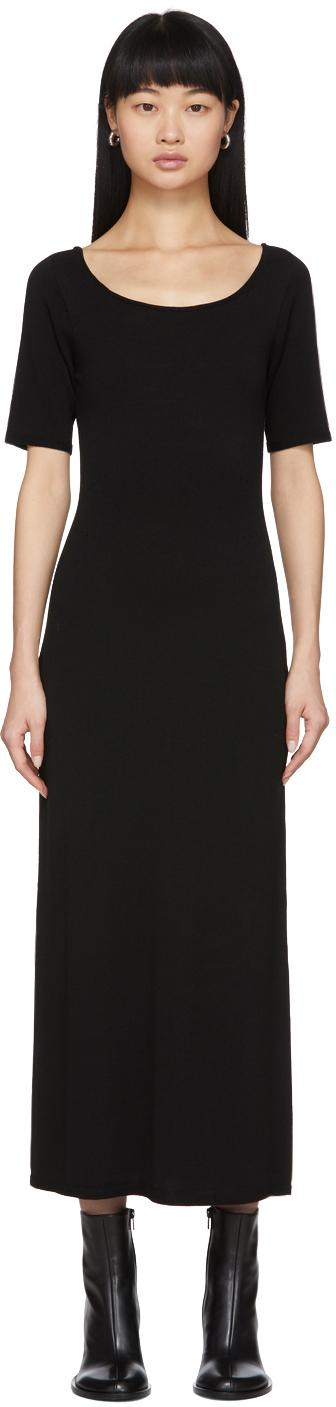 Lemaire Black Second Skin Dress