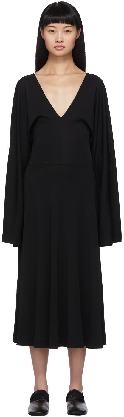 Totême Black Bolbec Dress
