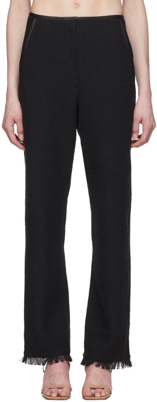 Nanushka Black Kyra Pants