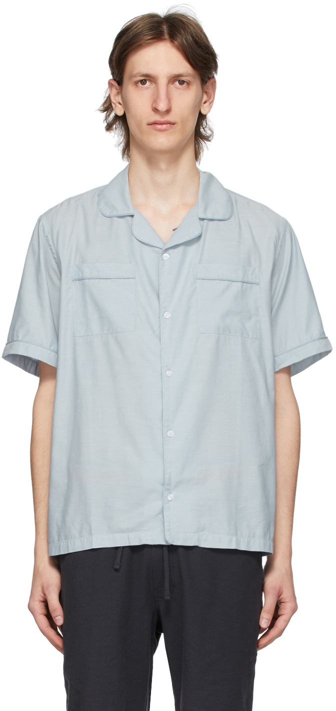 Saturdays NYC Blue Cameron Shirt
