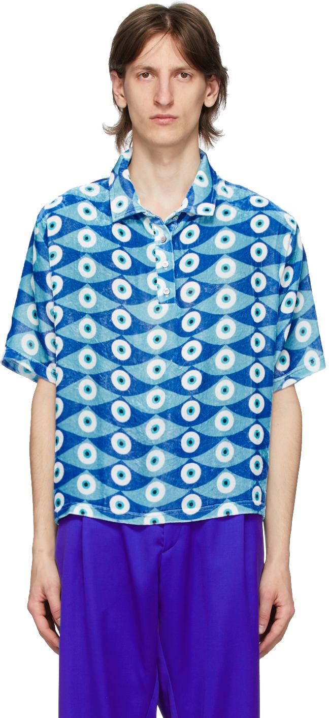 GmbH Blue Eye Print Olof Polo