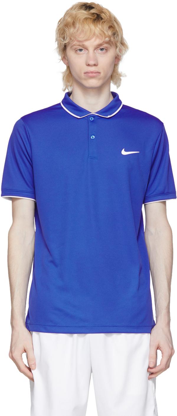 Nike Blue Dri-FIT Polo