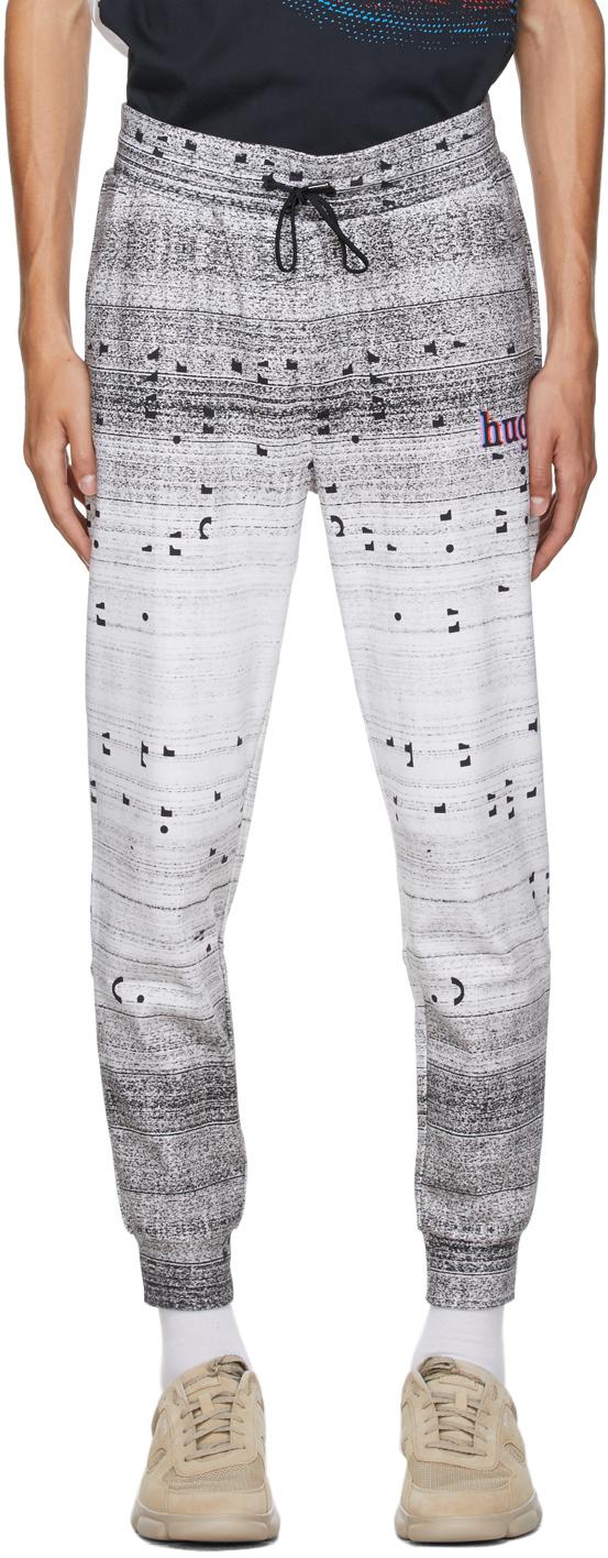 Hugo White Donaco Lounge Pants