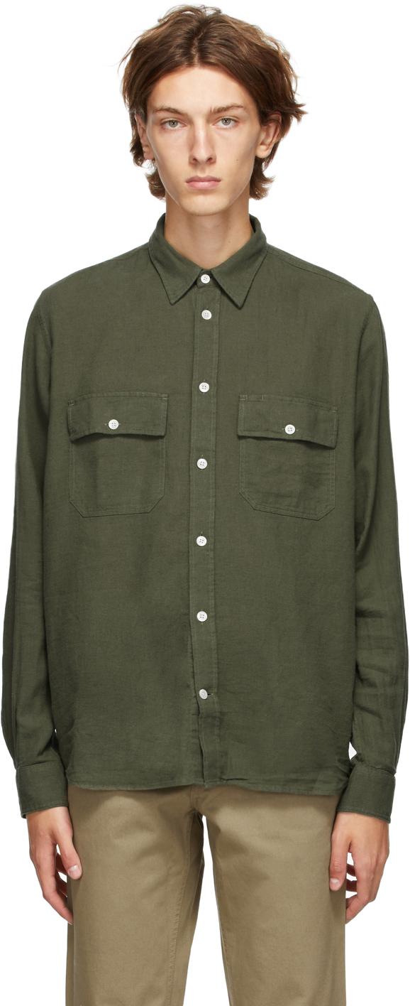 Norse Projects Green Villads 50/50 Shirt