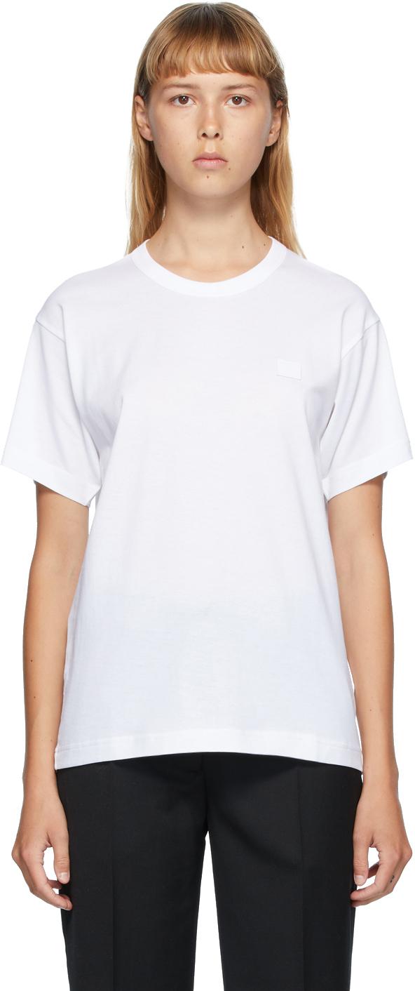 Acne Studios White Nash Patch T-Shirt