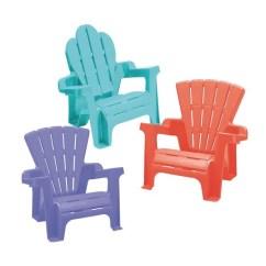 Childrens Adirondack Chair Plastic Adirondac Plans Buy American Toys Children S Assortment At View Larger Image
