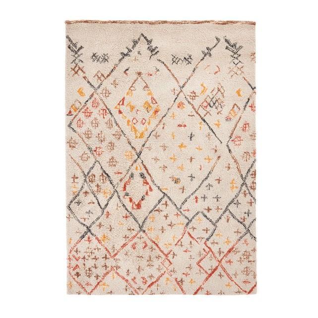 tapis style berbere en laine ashwin la