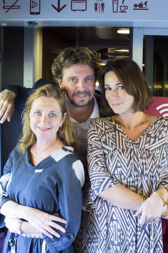 Alex Vizorek Et Sa Femme : vizorek, femme, Behind, Scenes:, Virginie, Vizorek, Gael.be