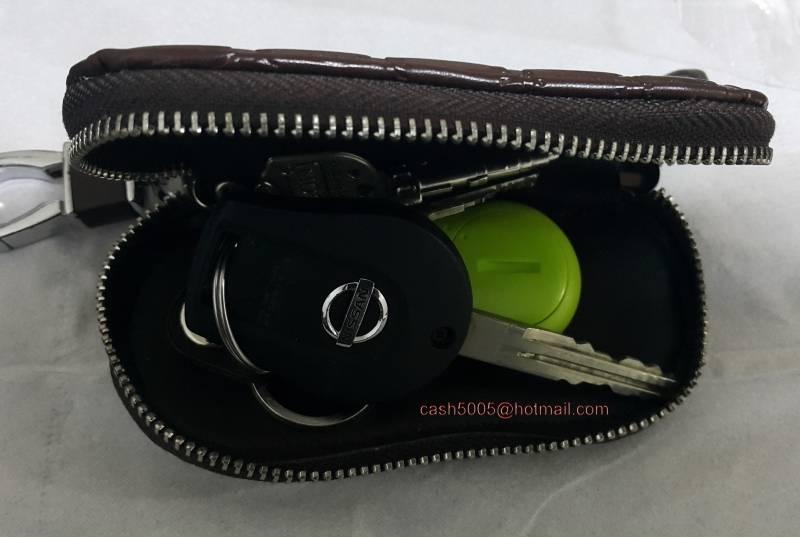 Portable Pu Leather Key Holder Heart Shaped Card Key