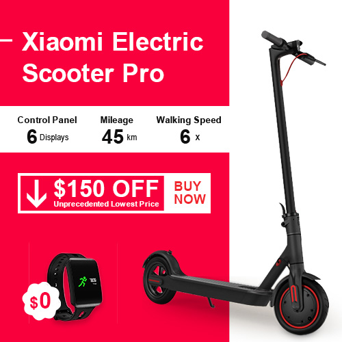 $150 off Xiaomi Electric Scooter Pro