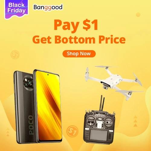 Black Friday Pay $1 Get Bottom Price
