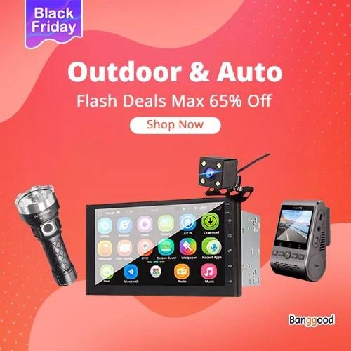 Black Friday Outdoor&Automobiles Flash Deals Max 65% Off