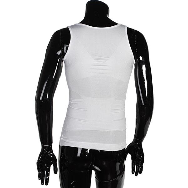Men's Belly Fatty Slimming Body Shaper Vest Shirt Corset Underwear