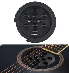flanger fs 08 professional guitar soundhole cover for f [ 1000 x 1000 Pixel ]