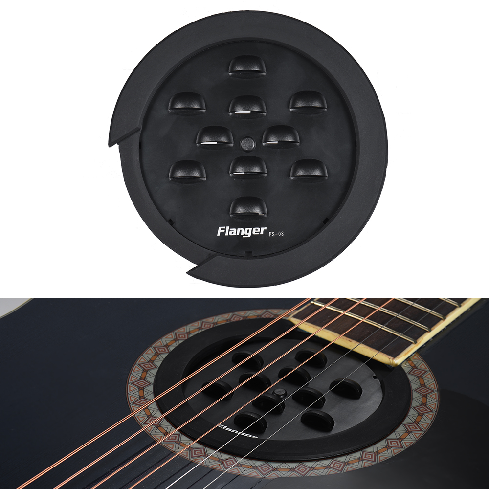 hight resolution of flanger fs 08 professional guitar soundhole cover for f