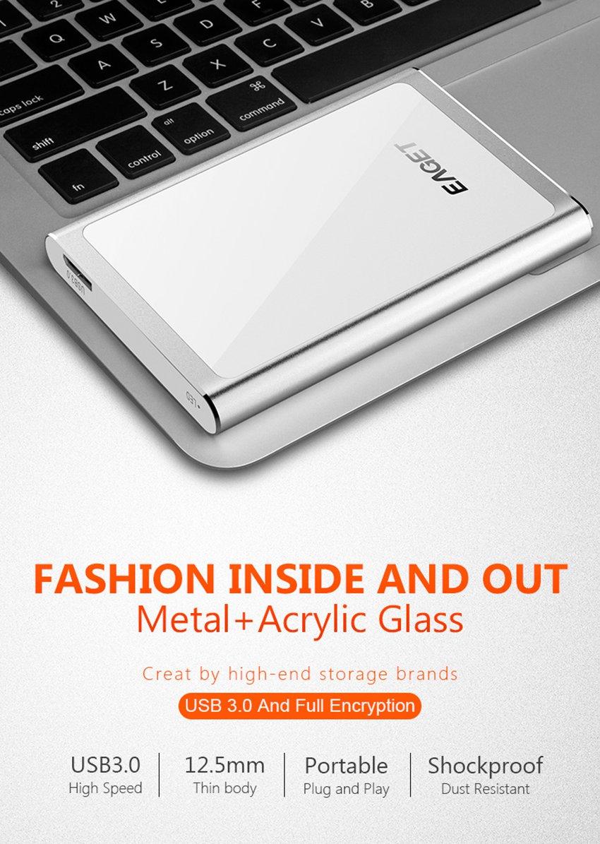 EAGET G90 USB 3.0 Full Encryption External Hard Drive 1TB 2TB Hard Disk 28