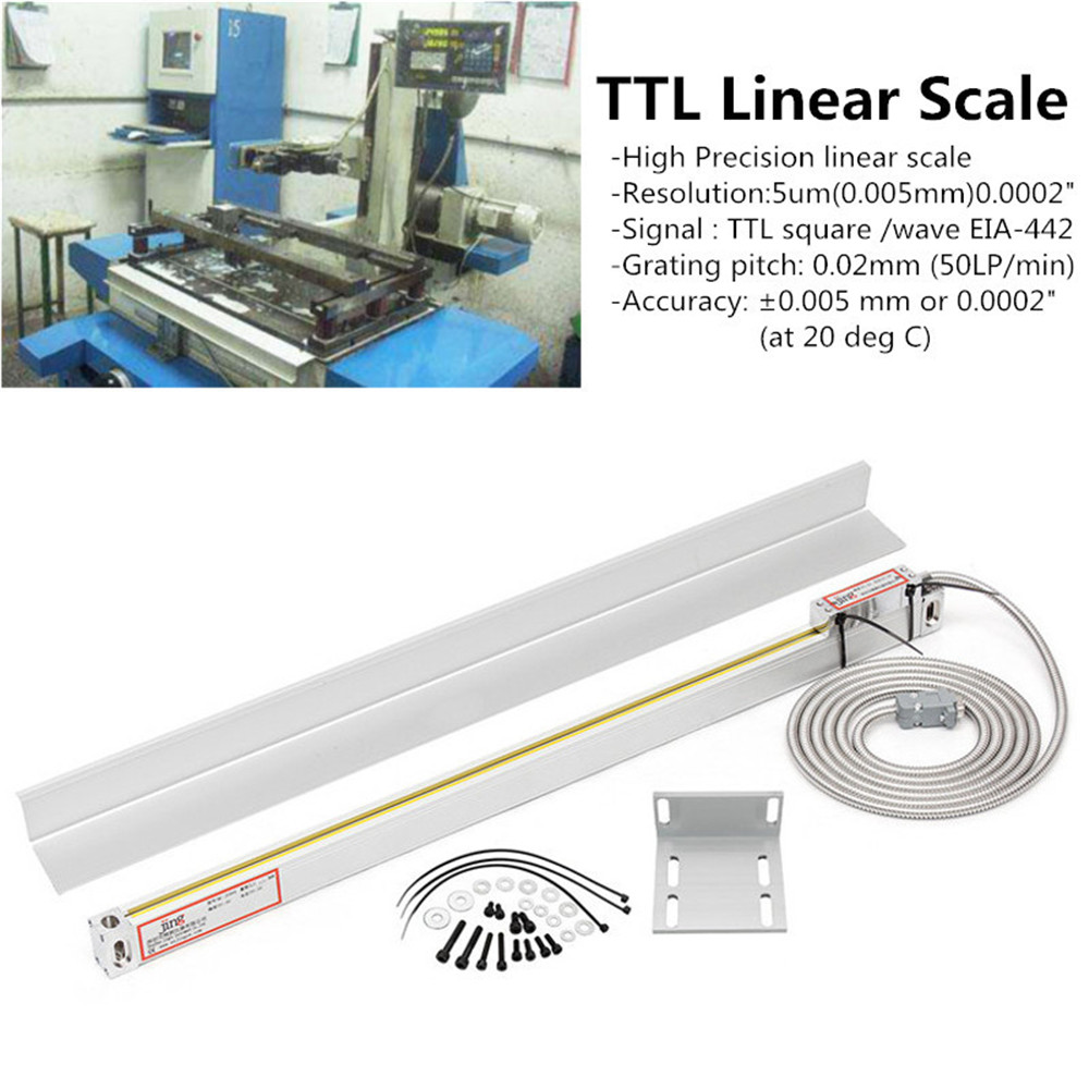 2/3 Axis Grating CNC Milling Digital Readout Display / 50-1000mm Electronic Linear Scale Lathe Tool 56