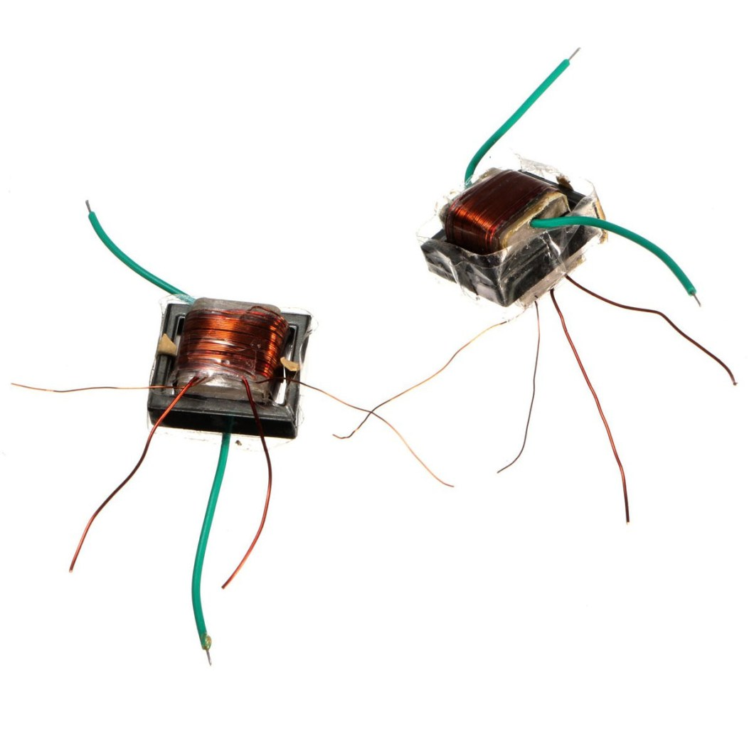 10Pcs 10KV High Frequency High Voltage Transformer Booster Coil Inverter 34
