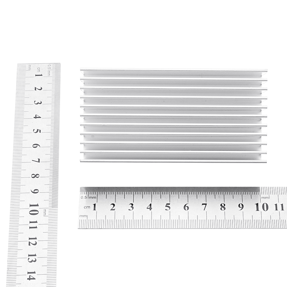 100x50x30mm Power Amplifier Heat Sink Cooling Radiator 24