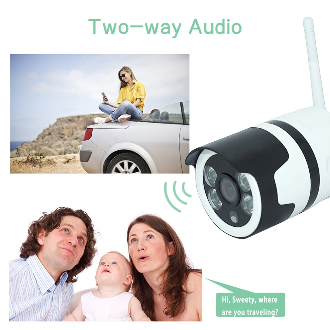 1080P 2MP WiFi Home Security IP Camera Motion Detection Night Vision For Alexa Echo 13