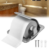 Recessed Toilet Paper Roll Holder Tissue Brushed Nickel ...