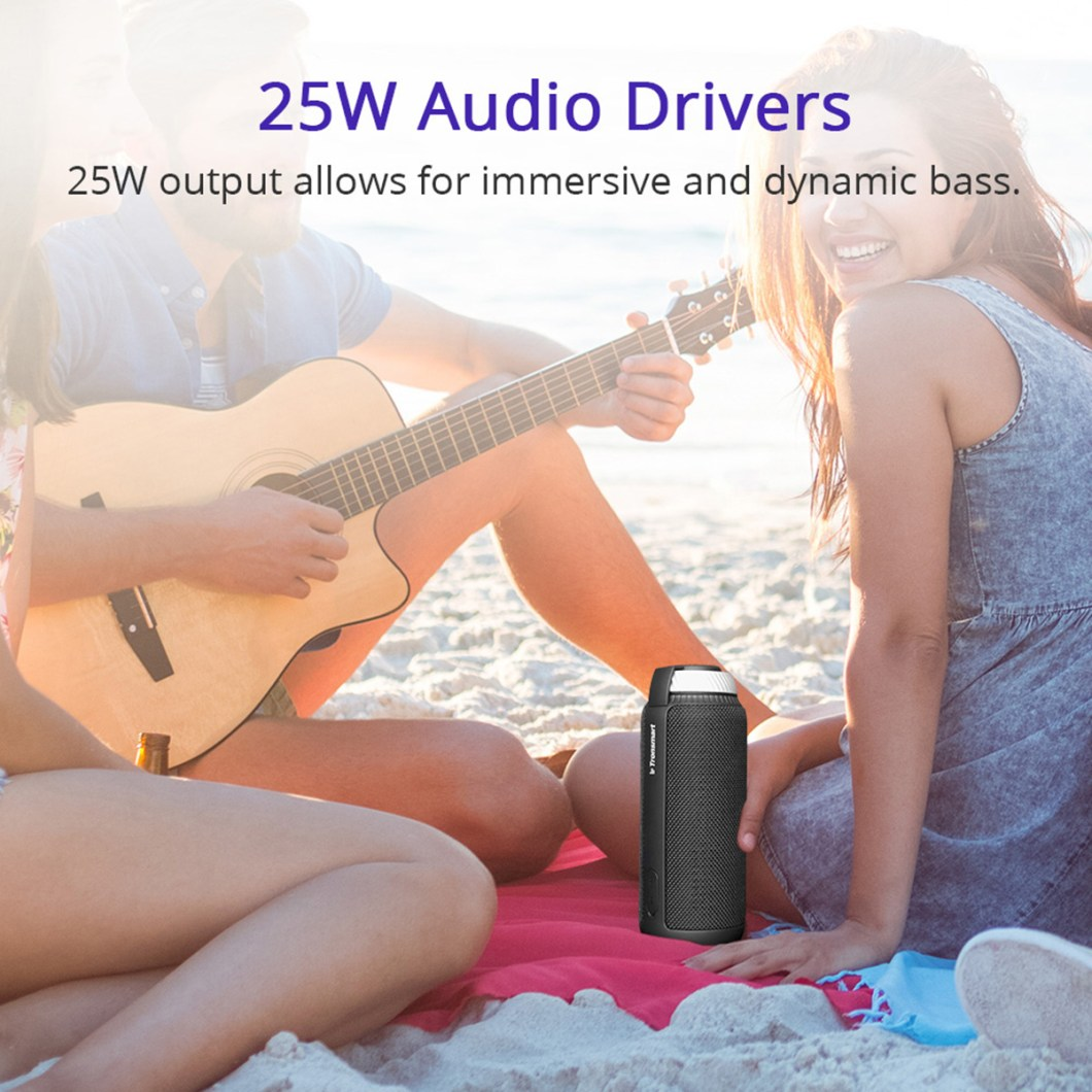 Tronsmart Element T6 Portable Wireless Bluetooth Speaker 5200mAh Stereo Outdoors Speaker 8