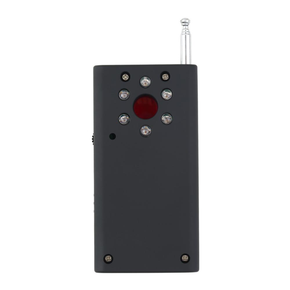 Wireless RF Signal Detector CC308 Multi Function Camera Bug GSM Alarm System WiFi GPS Laser 1MHz-6.5GHz Range Adjustable Sensitivity