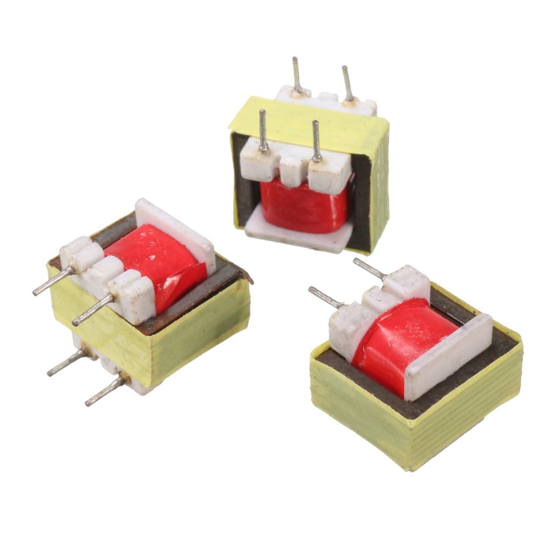 50pcs 1300 : 8 Ohm Audio Transformer EE14 Transformateur Audio POS Transformador 25