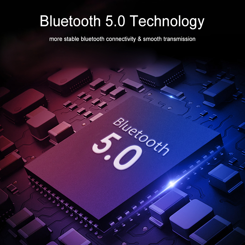 [Bluetooth 5.0] Bakeey T2 TWS Earphone LED Battery Display Smart Touch Binaural Call IPX5 Waterproof 7