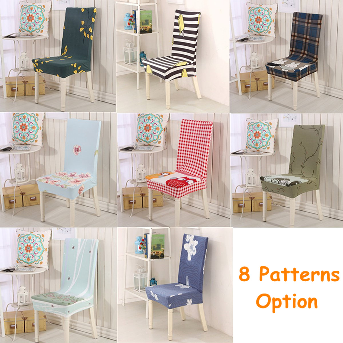 Chair Cover Patterns Household Chair Covers Elastic Anti Fouling Seat Sub Set 3 Colors Chioce Chairs Cover