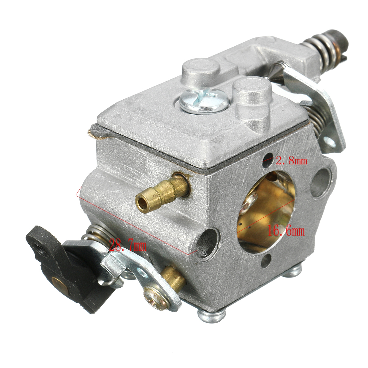 hight resolution of carburetor with fuel filter for husqvarna 51 55 chain saw 503281504 walbro wt 170