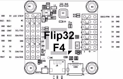 Raceflight Betaflight REVO F4 STM32F405 Flight Controller