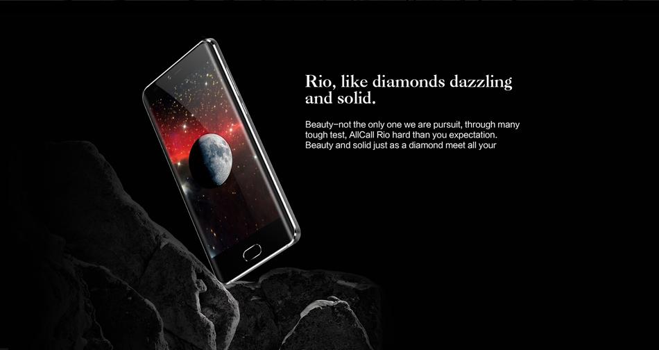 AllCall Rio 5.0-Inch Android 7.0 Dual Rear Cameras 1GB RAM 16GB ROM MT6580A Quad-Core 3G Smartphone