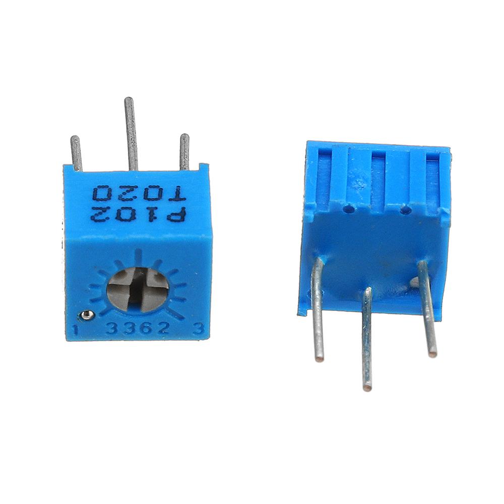 39Pcs 100R-1M Each 1 3362 Potentiometer Package 3362P Adjustable Resistor 30