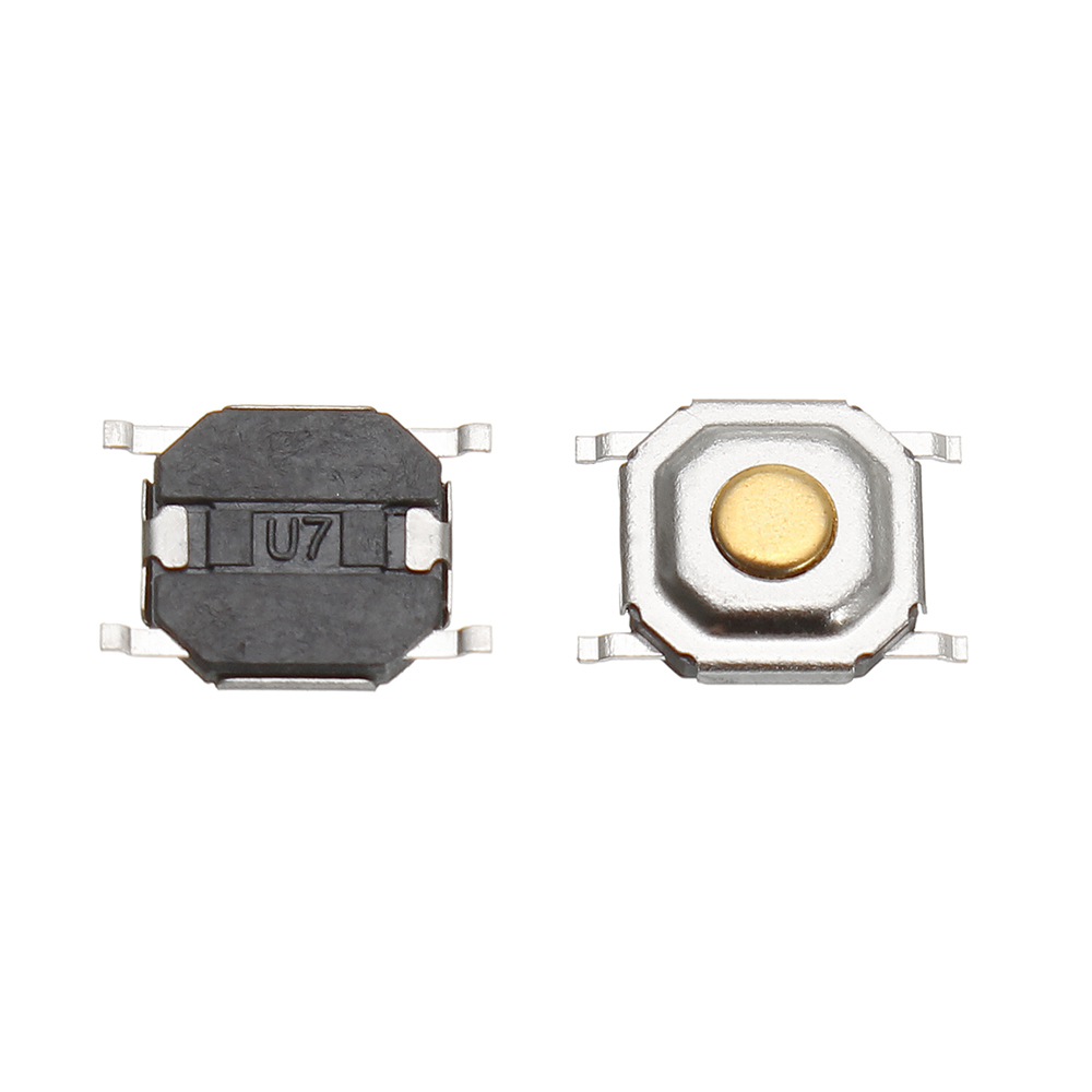 1500Pcs DC12V 4 Pins Tact Tactile Push Button Switch Momentary SMD Switch 5x5x1.5MM 17