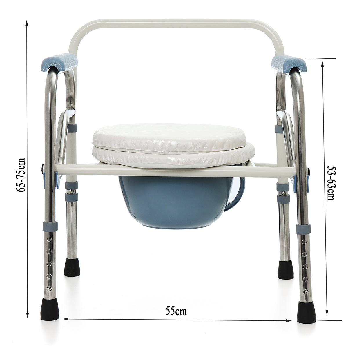 Folding Commode Chair Other Bath And Body Foldable Commode Toilet Safety Chair