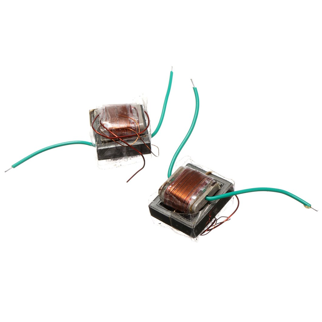 10Pcs 10KV High Frequency High Voltage Transformer Booster Coil Inverter 36
