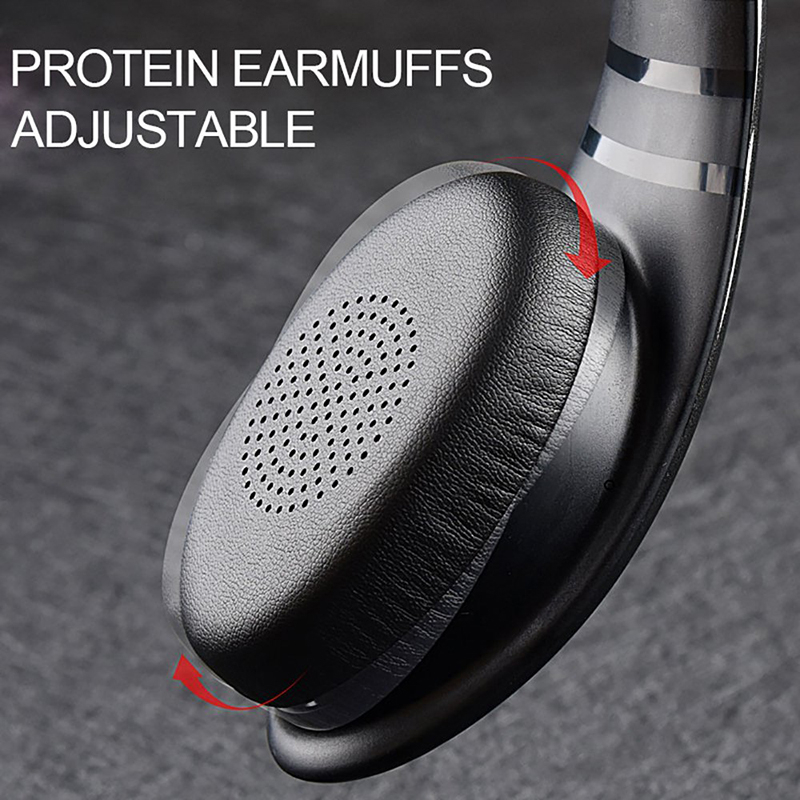Ovleng S66 On-ear Sport Noise Reduction HiFi Stereo Heavy Bass Bluetooth Headphone With Mic 19
