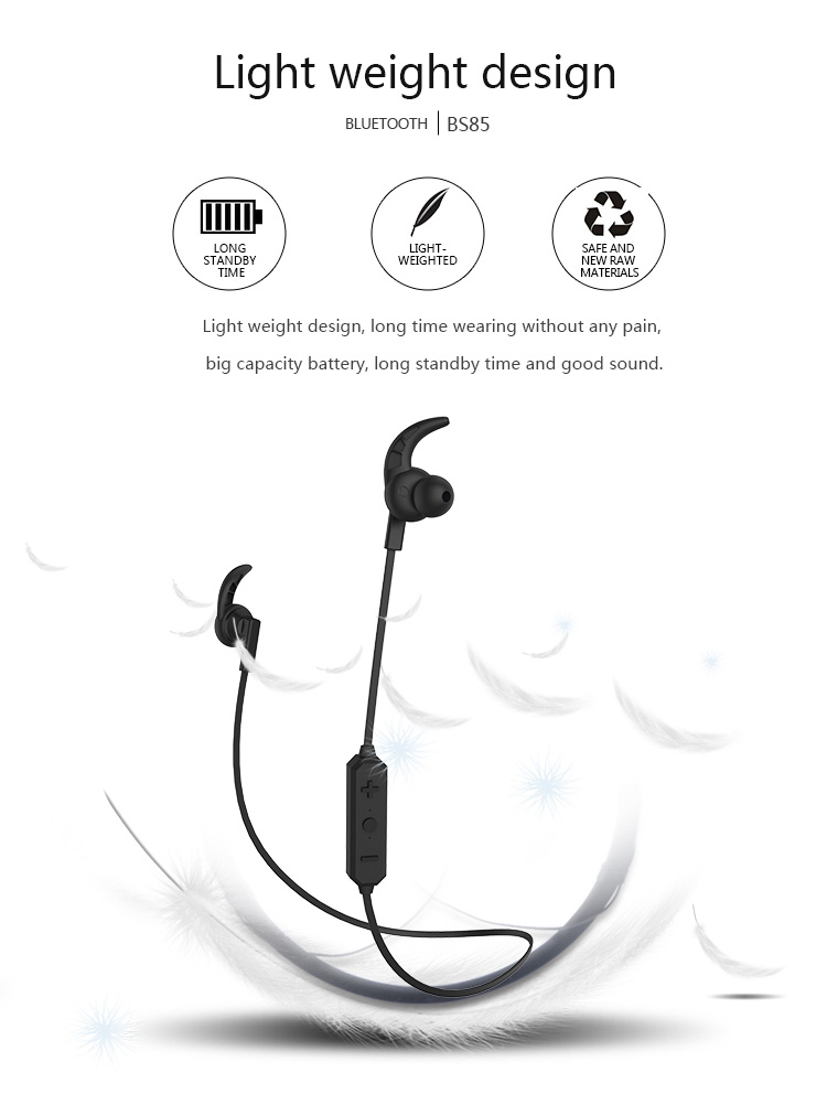 New Langsdom BS85 In-ear Sports Bluetooth Stereo Bass