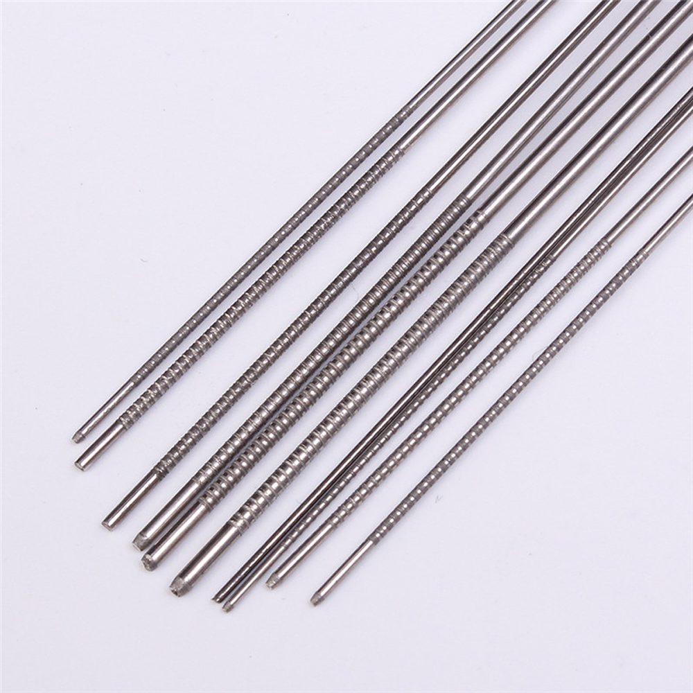 50pcs 10 Kinds Stainless Steel Needle Set PCB Electronic Circuit Through Hole Needle Desoldering Welding Repair Tool 80mm 0.7-1.3mm 20