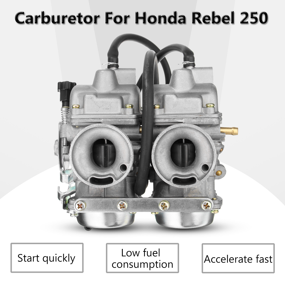 hight resolution of carburetor dual carb assy fuel filter for honda rebel ca cmx 250 c cmx250 ca250