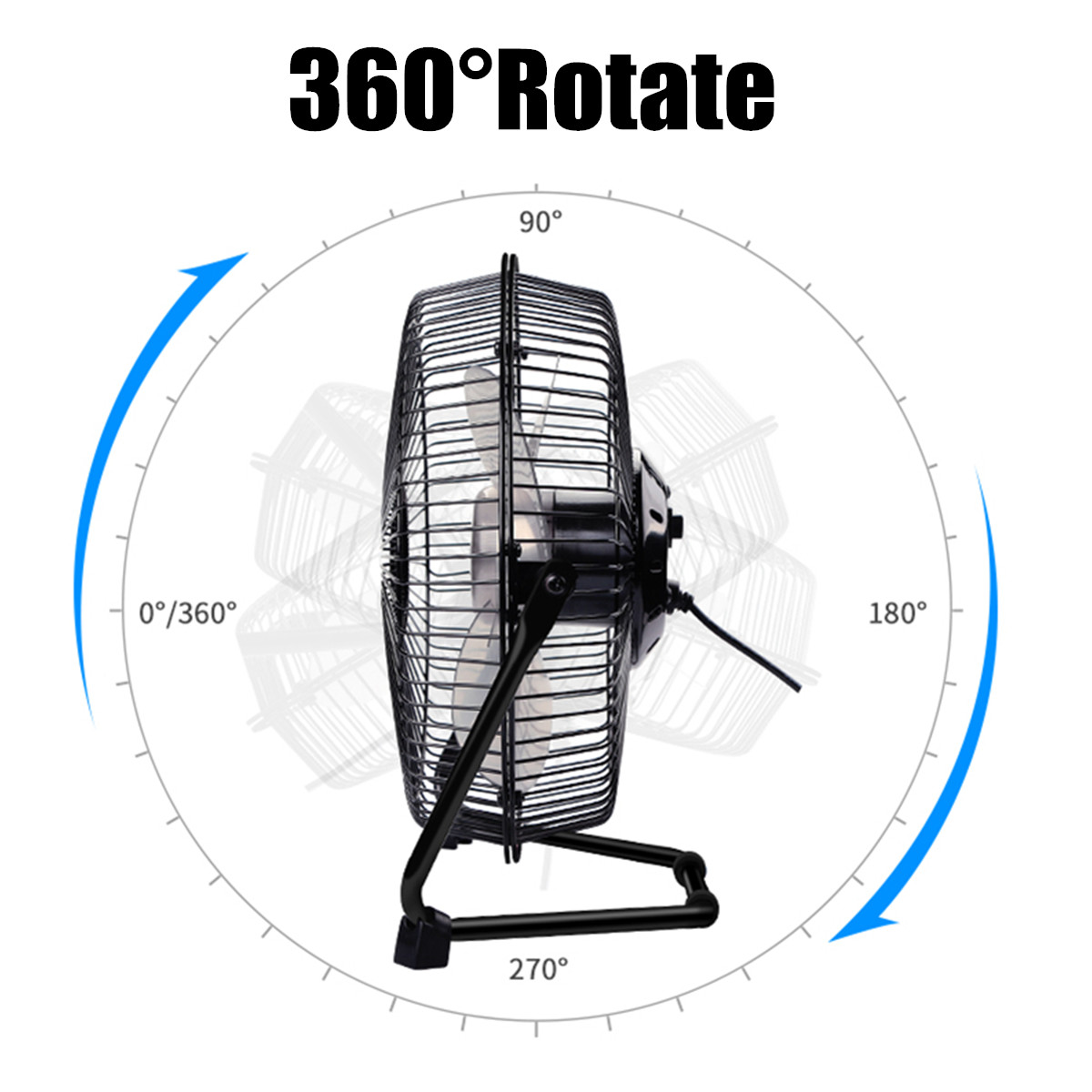 10w Usb Solar Panel Powered Mini Fan Waterproof Portable