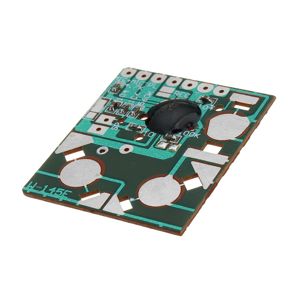 3pcs Miniature Digital Recording Voice IC Chip Module Movement Recorder Recording Pen Music Card Electronic Kit 35