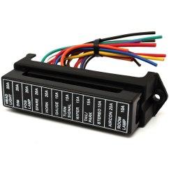 32v 12 way circuit car boat automotive blade fuse box block holder atc ato rv25 size 4  [ 1200 x 1200 Pixel ]