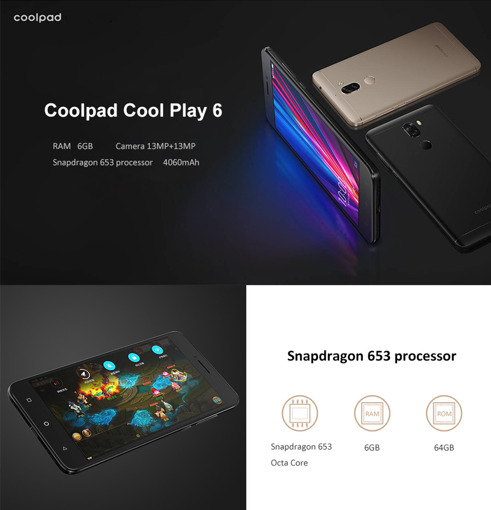 Coolpad Cool Play 6 Smartphone