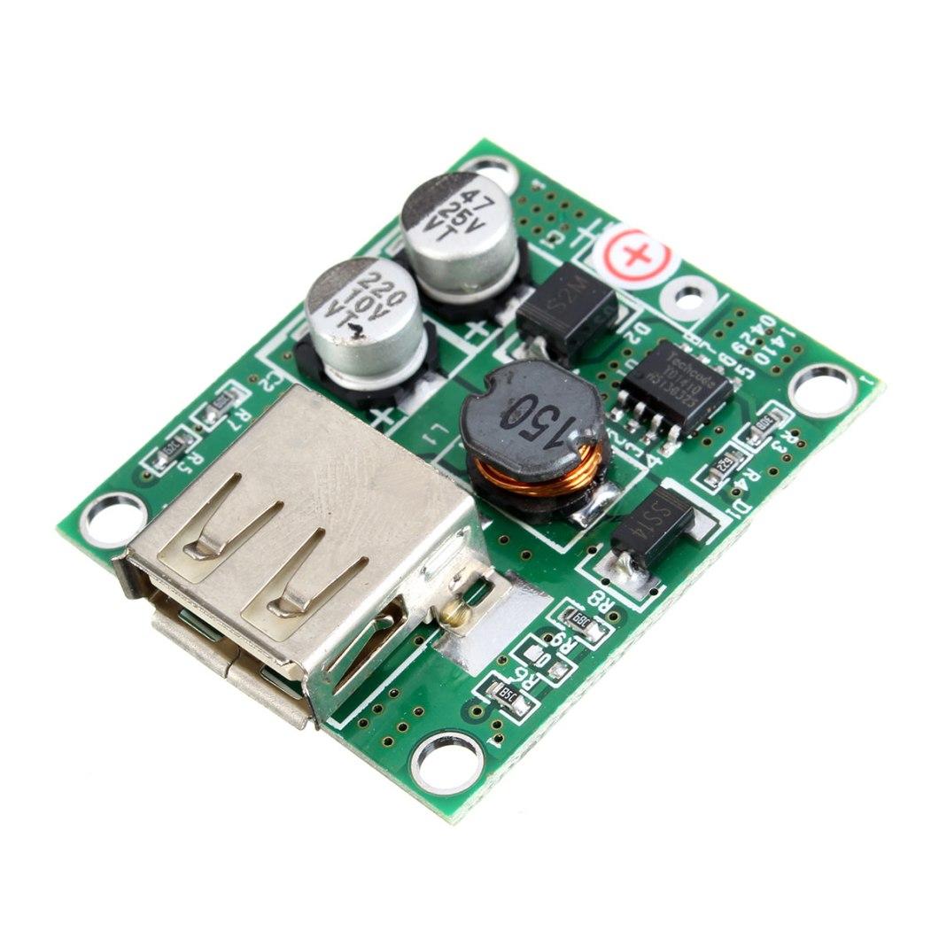 5pcs DIY 5V 2A Voltage Regulator Junction Box Solar Panel Charger Special Kit For Electronic Production 12