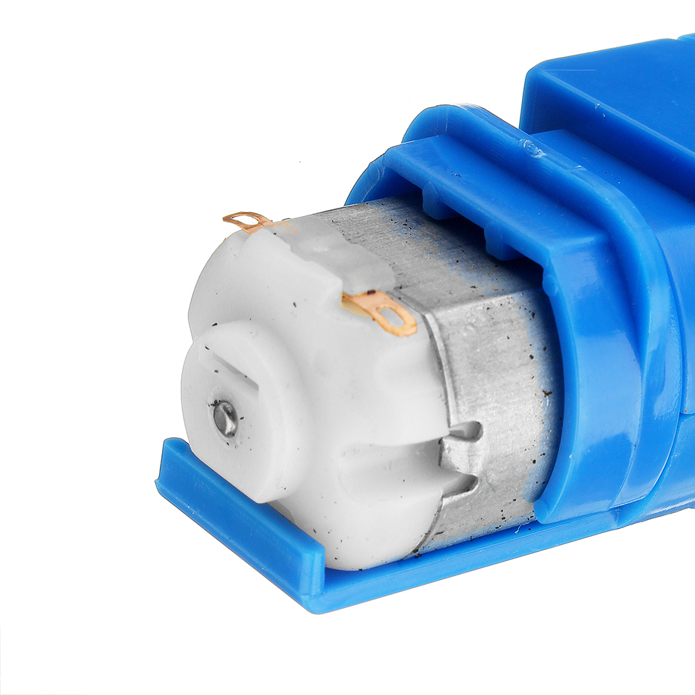 1:28 Transparent/Blue/Orange Hexagonal Axis 130 Motor Gearbox for DIY Chassis Car Model 19