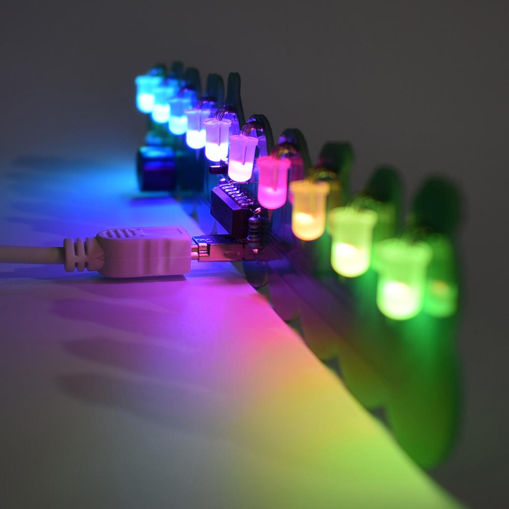 3pcs Geekcreit® DIY Full Color Christmas Snowman Music Box Kit 36