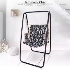 Hanging Chair Holder Ergonomic Costco Hammock Leisure Swing Steel Foot Garden Shipping Methods